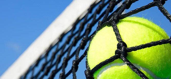 tennis, net, ball