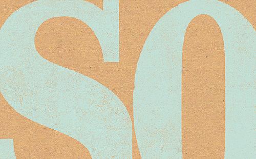 So, letterpress