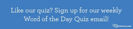 Sign up for our Weekly Quiz!