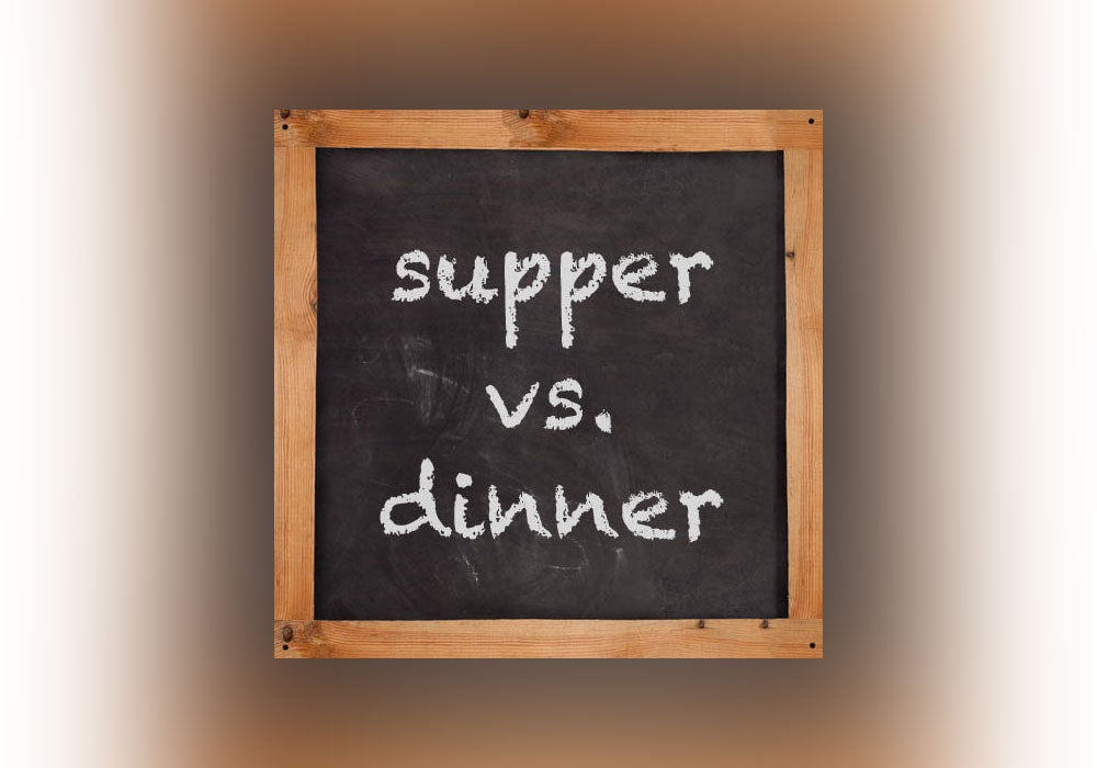 Supper vs  Dinner - Everything After Z by Dictionary com