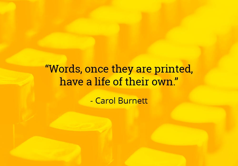 15 Quotes About The Power Of Words - Everything After Z by ...