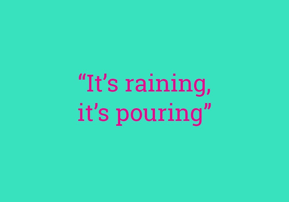 its raining men lyrics