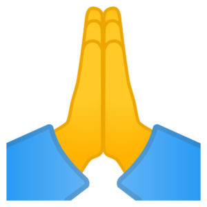 ATW: What Does 🙏 - Folded Hands Emoji Mean? | Dictionary com