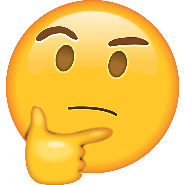 Image result for think emoji
