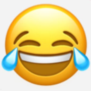 Image result for laughing super hard emoji