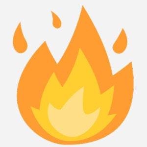 ATW: What Does 🔥 - Fire Emoji Mean? | Emoji by Dictionary com