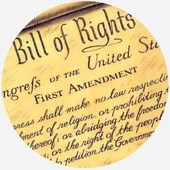 this amendment allows people to keep their rights such as religion speech and press