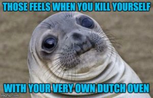 Sexual meaning of dutch oven
