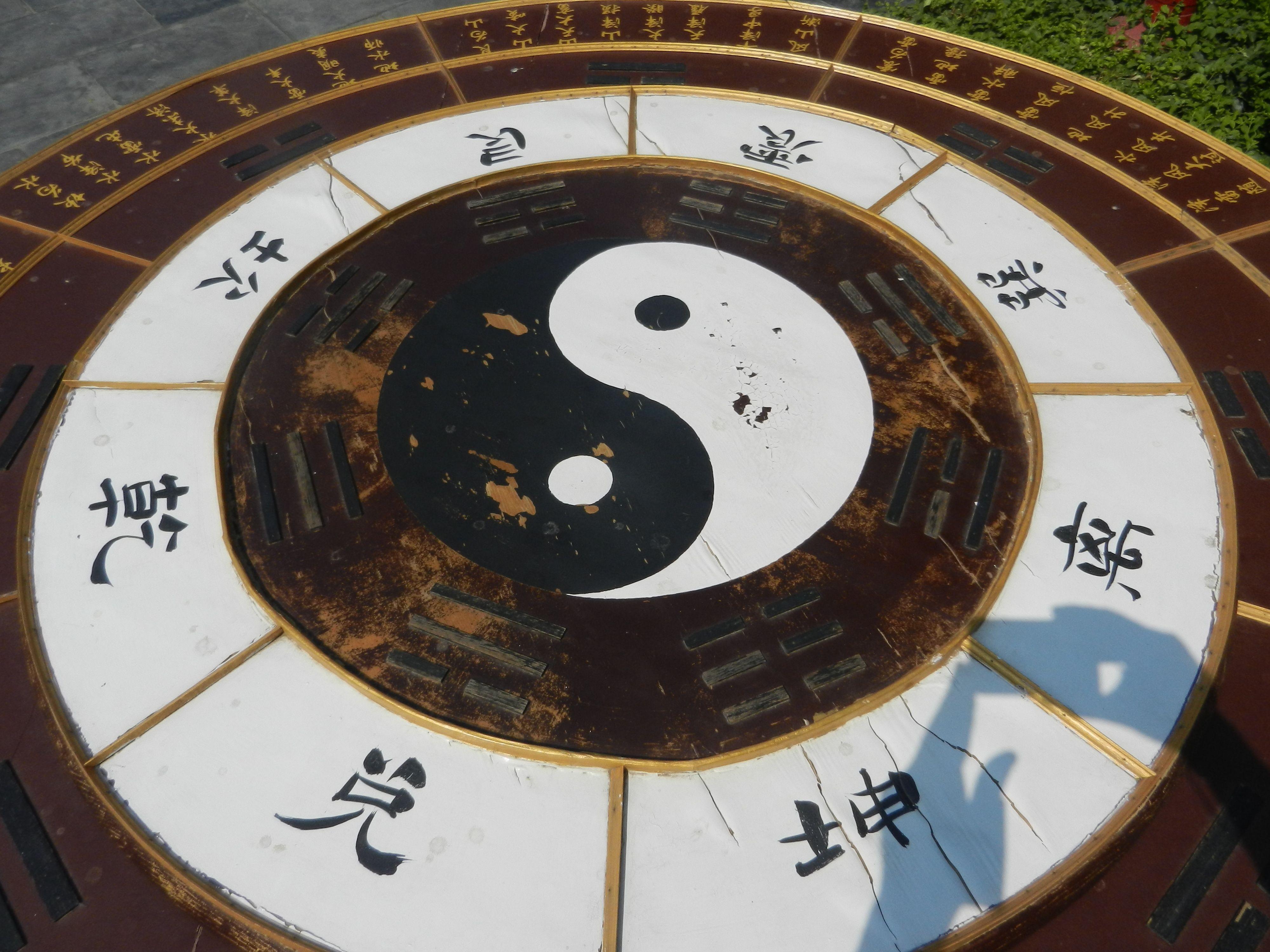 Yin yang symbol meaning origin