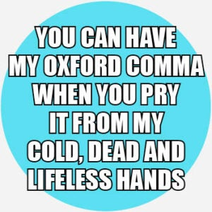 Oxford-comma