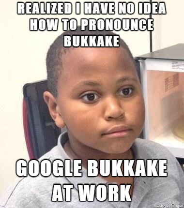 What does bukkake stand for
