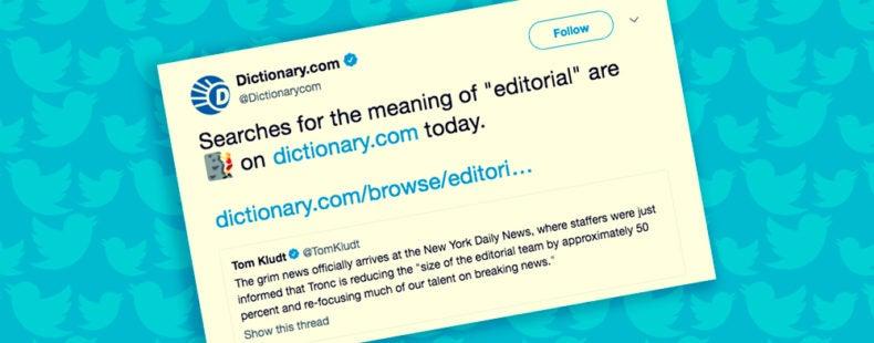 trending words dictionary.com