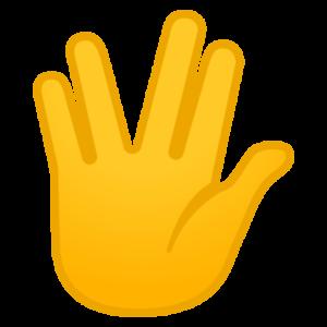 What does 🖖 - Vulcan Salute Emoji mean?