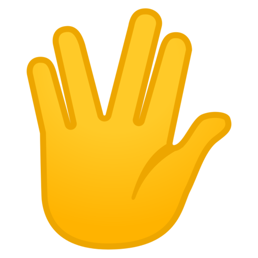 What does 🖖 - Vulcan Salute Emoji mean?