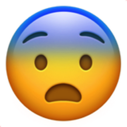 Fearful Face Emoji Emoji By Dictionary Com