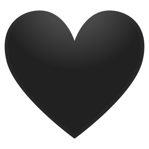 Heartbeat Png Transparent Black: All The Words: What Does 🖤