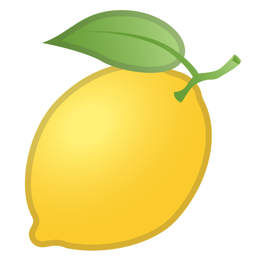 What does 🍋 - Lemon Emoji mean?