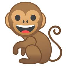 What does 🐒- Monkey Emoji mean?