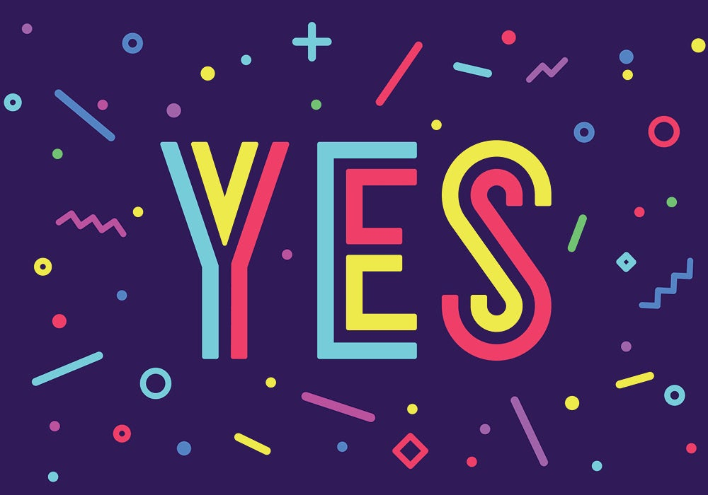 fancy ways to say yes