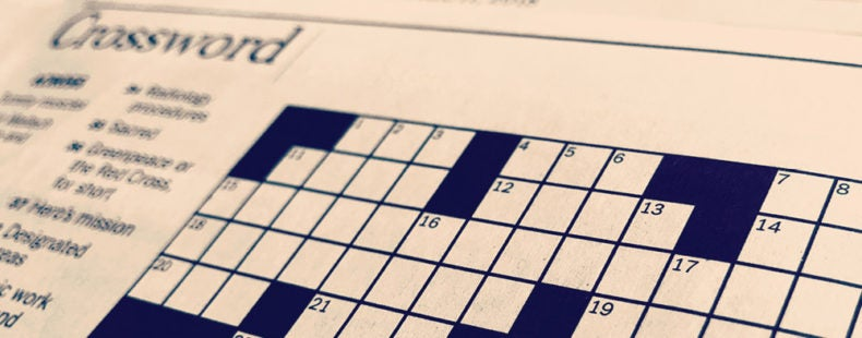 Learn The History Of The New York Times Crossword Puzzle Dictionary Com