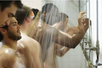 Gay stories shower