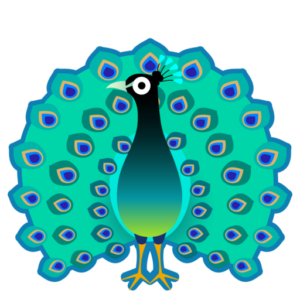 ATW: What does 🦚 - Peacock Emoji mean?