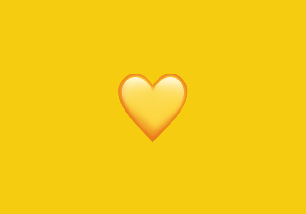 ATW: What does 💛 - Yellow Heart Emoji mean?