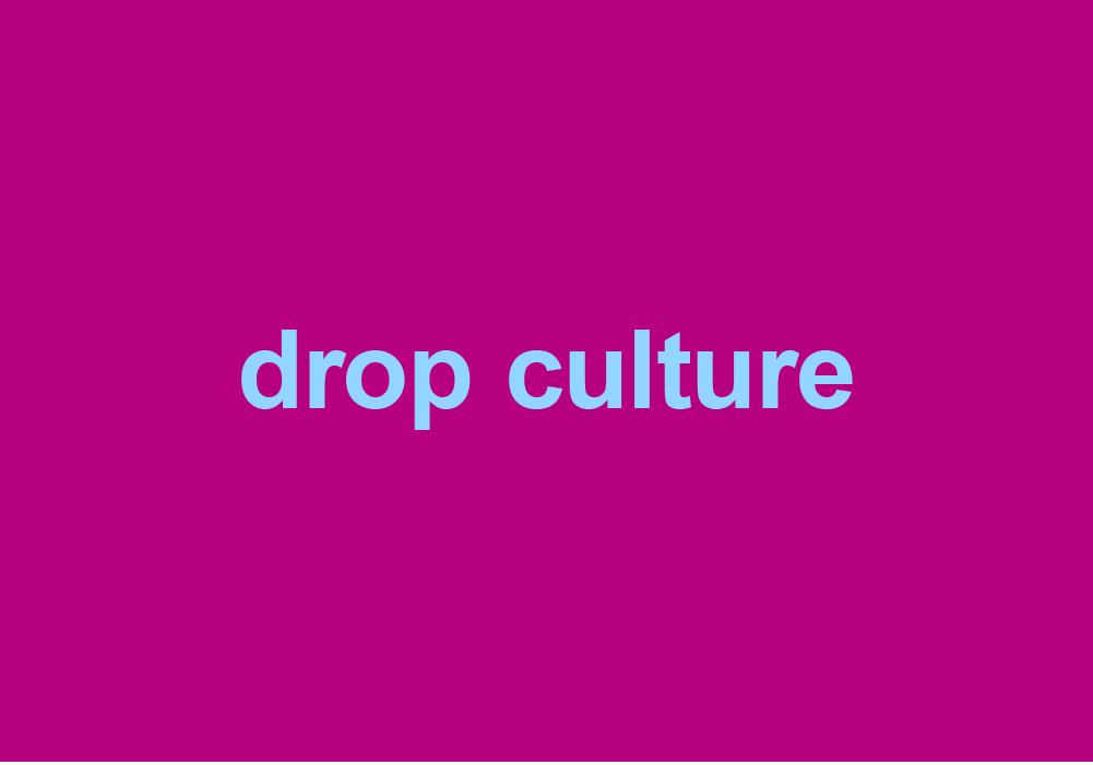 Drop Culture Dictionary Com