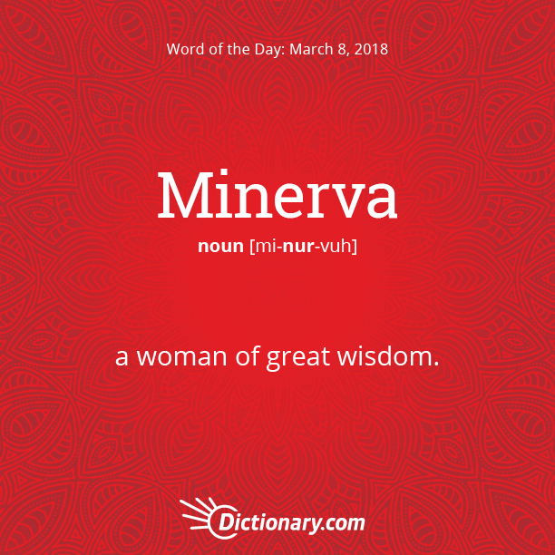 Word of the Day - Minerva | Dictionary com