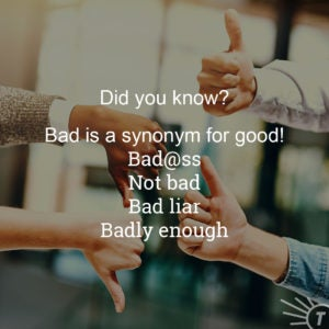 Not All Bad 7 Ways Bad Can Be Good Everything After Z By