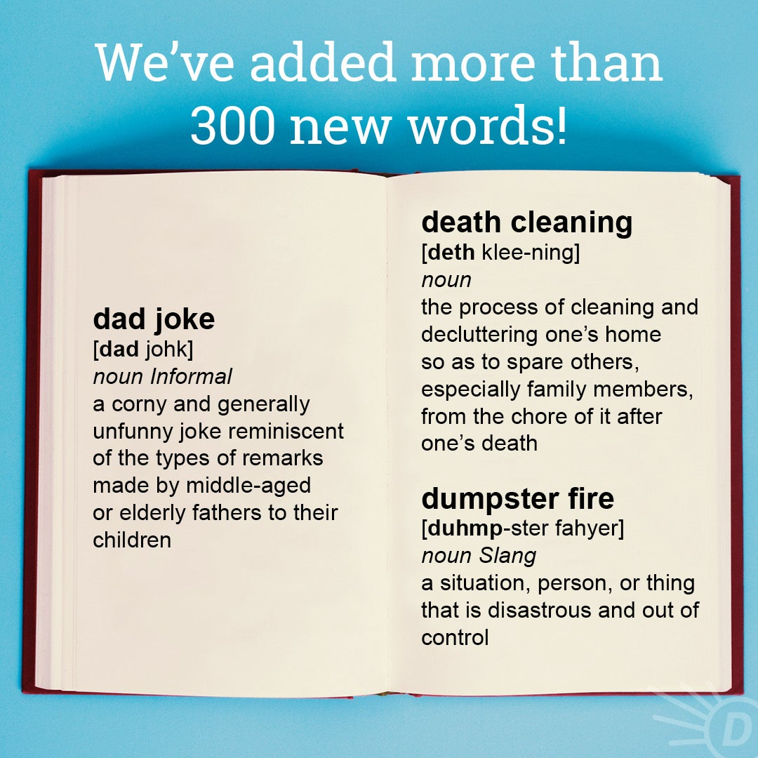 We've Added Over 300 New Words To Dictionary com
