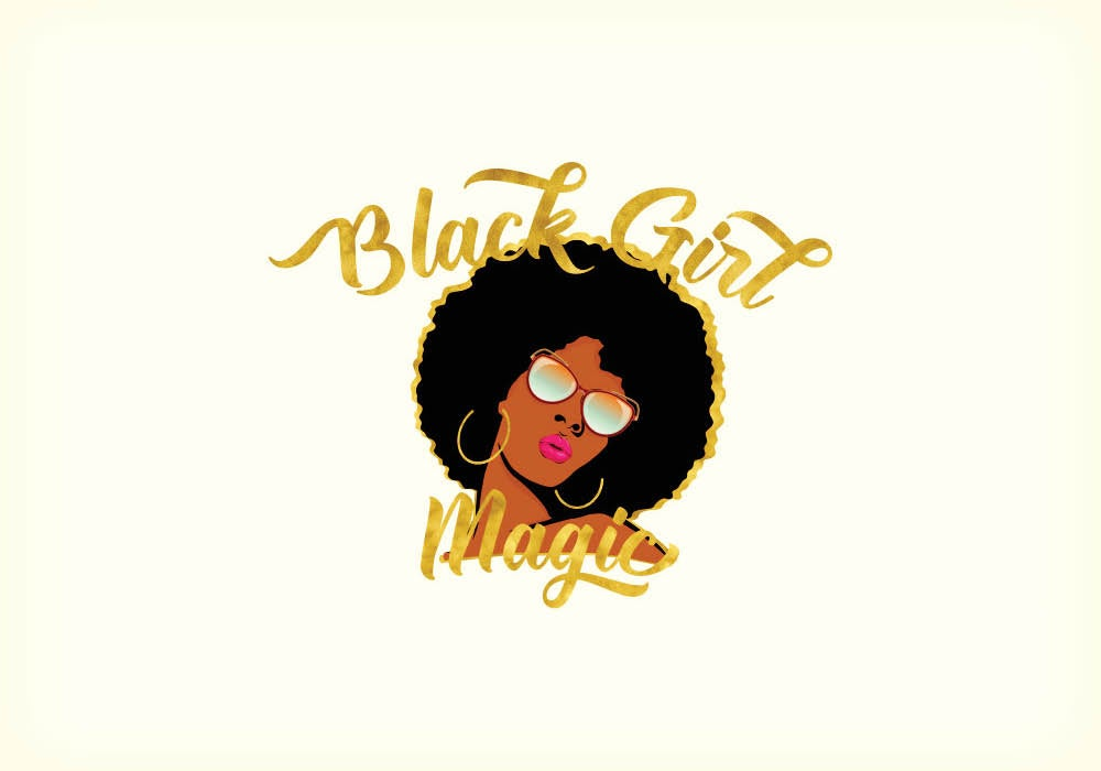 https://www.teepublic.com/throw-pillow/409101-black-girl-magic-gold-outline