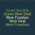 """From """"Great Society"""" to """"Green New Deal"""": How Do Politicians Name Policies?"""