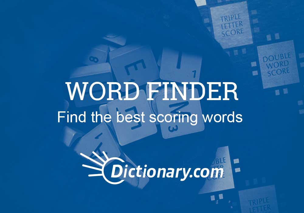 Word Finder - Everything After Z by Dictionary com