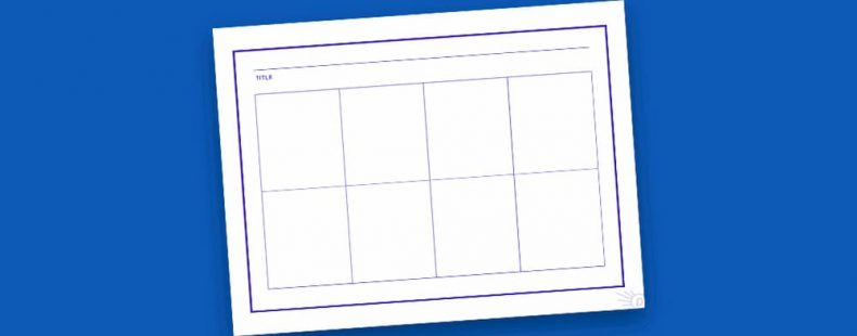 Free Printable Comic Book Template For Kids