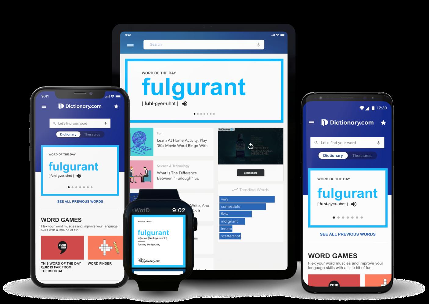 Dictionary.com app