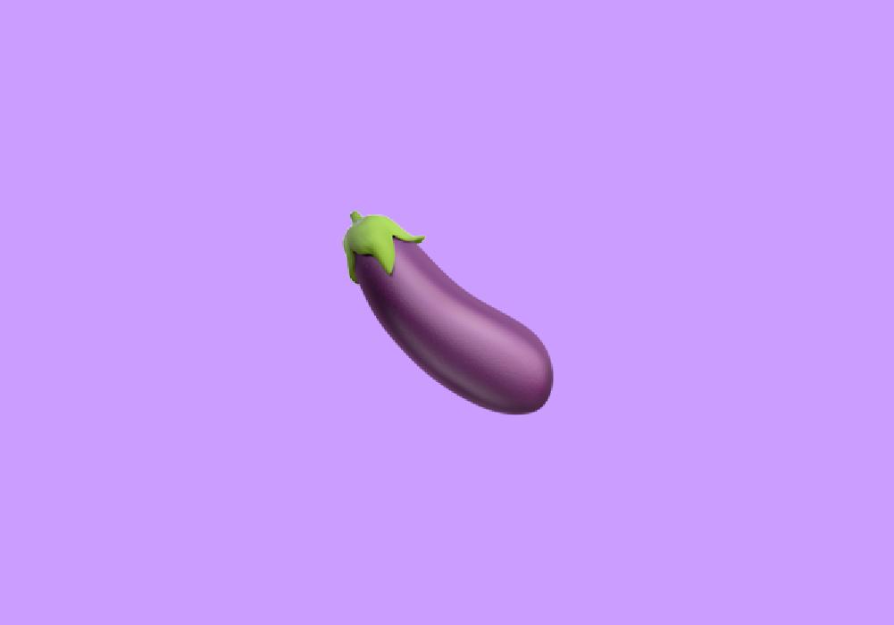 Hot girls anal eggplant What Does Eggplant Emoji Mean Emoji By Dictionary Com