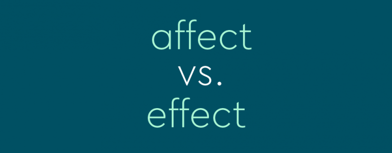 Effect and Affect | Essay Freelance Writers